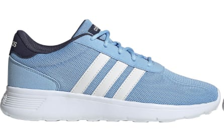 adidas Women's Running Shoes: Lite Racer (light blue/white) or Falcon (blue/pink) $30 Each + Free Shipping