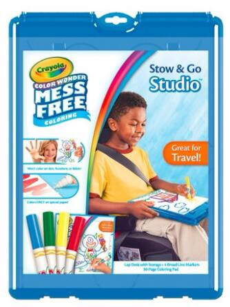 Crayola Color Wonder Stow & Go $8.66 & More + Free Store Pickup at Walmart, or Free S/H on $35+