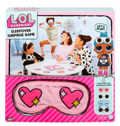 L.O.L. Surprise! Sleepover Surprise Active Party Game $6 + Free Store Pickup at Walmart
