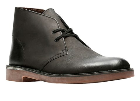 Clarks Men's Bushacre 2 Chukka Boots (black leather) $20, Muk Luks Men's Moccasin Slippers (black) $4.04 + Free Shipping on $49+