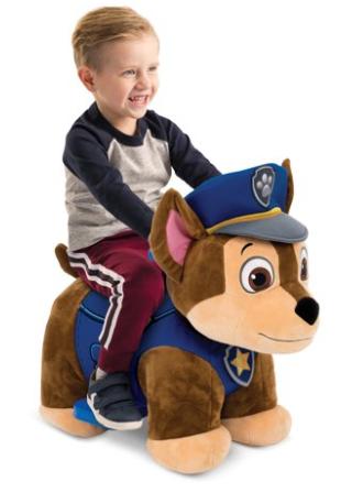 Huffy 6V Plush Toddler Ride-On Toys: Nick Jr. Paw Patrol Chase or Disney Lion King Simba $44 Each + Free Shipping