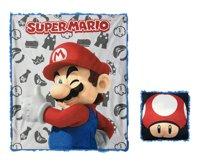 """2-Pc. Super Mario Kids' Pillow & 40"""" x 50"""" Throw Set w/ Gift Box $11.81, 2-Pc. Your Zone Kids' Shark Plush Pillow & 50"""" x 60"""" Throw Set $7.96 & More + Free S/H on $35+"""