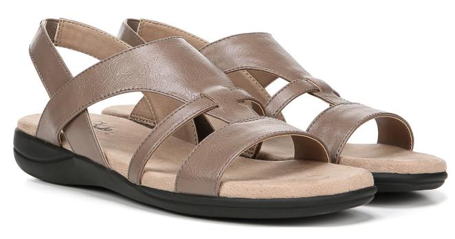 LifeStride 50% Off  Women's Sandals: Ezriel Sandals (various colors) $10, Trudie Sandals (various colors) $12.50 & More + Free S/H