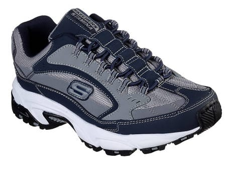 Skechers Men's Stamina Woodmer Sneakers (navy) $20, New Balance Women's Arishi Running Shoes (black) $20 adidas Women's Lite Racer Shoes (blue) $26 & More + Free Ship on $49+