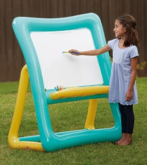 "27"" x 39"" x 50"" Creatology Inflatable Easel $20, 11-Piece Creatology Washable Art Set $4 + Free Store Pickup at Michaels"