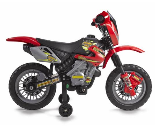 Kids' Ride-On Motobike 6V Cross 400F $49 + Free Shipping