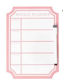 Dry-Erase Decal Calendar (Blush) $4.50, Dry-Erase Entry Boards (Bring Pizza or Shut The Front Door) $5, Pillow Covers (various) $3.82 + Free S/H