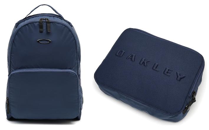 Oakley: Men's Packable Backpack (Foggy Blue) $18, (Dark Brush) $17.50, Men's Street Satchel (2 colors) $14, Women's Luxe Anorak Jacket (2 colors) $36 & More + Free S/H