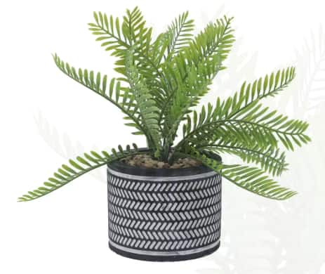 Bright Ideas: Artificial Fern in Cement Container $2.80, Spring Wreaths From $1.50, Flower Pots From $1.50, Flower Vases From $1.12 & More + Free Store Pickup at Joann's