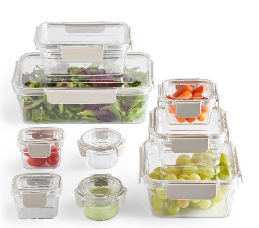 18-Piece Better Homes & Gardens Tritan Plastic Food Storage Containers $18, 12-Piece Pyrex Glass Simply Store 3-Cup Rectangular Food Storage Dishes $20.42 & More + Free S/H on $35+