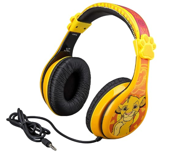 Disney Lion King Kids' Adjustable Over Ear Headphones $10.60 + Free S/H w/ Prime or Free on $25+