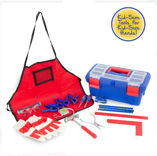 18-Piece Create and Learn Children's Tool Set $11.98 + Free S/H on $35+