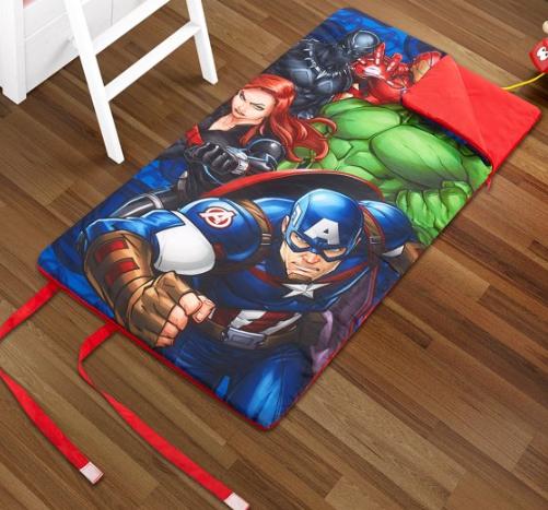 Kids' Slumber Bag w/ Side Zipper (Avengers, Mickey, Minnie) $9.97, + Free S/H on $35+