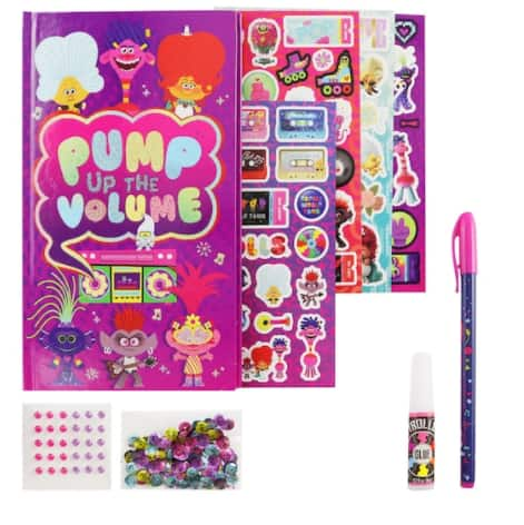 Trolls World Tour Kids' Sparkling Journal Set $3.19, Trolls Design A Poppy Kids' Activity Set $6.79 & More + Free In-Store or Curbside Pickup at Michaels