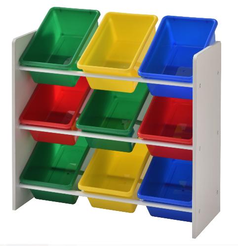 Sam's Club Members: Muscle Rack Kids' Storage Organizer w/ 9 Multi color Bins $26.48 + Free S/H or Free w/ Prime at Amazon
