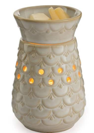 Candle Warmers Ect. Scalloped Vase Wax Warmer $12 & More + Free S/H on $35+