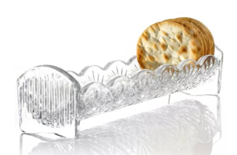 Godinger Crystal: Dublin Cracker Tray $8, Dublin Biscuit Box $13, Candy Dish (various) $8 & More + Free Ship to Store at Macy's or Free S/H on $25+