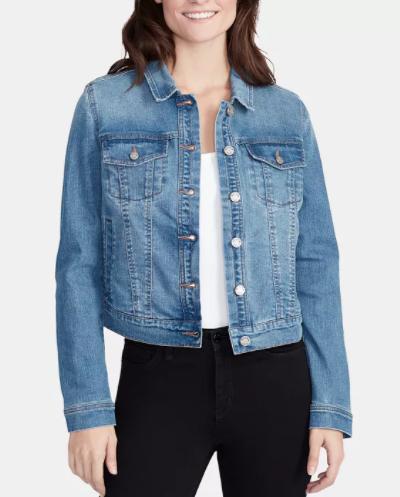 William Rast Women's Lenna Core Denim Jacket (2 colors) $24, Jack & Jones Men's Denim Trucker Jacket (2 colors) $27.80 & More + Free Ship to Store at Macy's or Free S/H on $25+