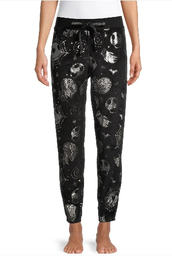 Women's Jogger Pajama Pants: Nightmare Before Christmas, Peanuts, Ghostbusters or Rugrats $11.88 Each + Free S/H on $35+