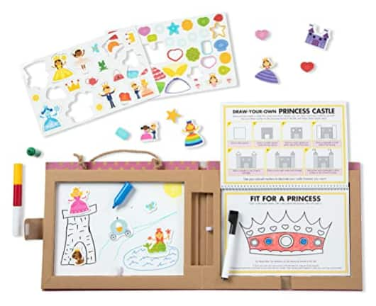 60-Piece Melissa & Doug Princesses Natural Play Reusable Drawing & Magnet Activity Kit $10 & More + Free S/H w/ Prime or Free S/H on $25+