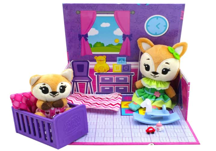 Tiny Tukkins Playsets w/ Plush Characters & Accessories: Fox, Bunny, Dog or Mouse $7.97 Each & More + Free S/H w/ Prime or Free S/H on $25+