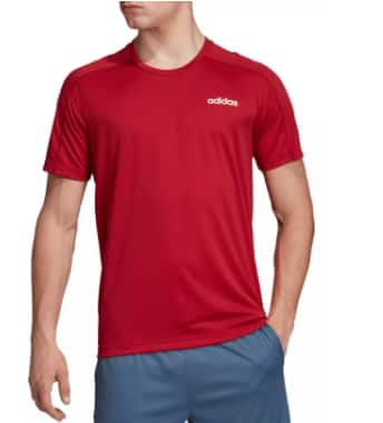 adidas Men's Design 2 Move Climalite Graphic T-Shirt (various colors) $10 + Free Curbside Pickup at DSG or Free Shipping on $49+