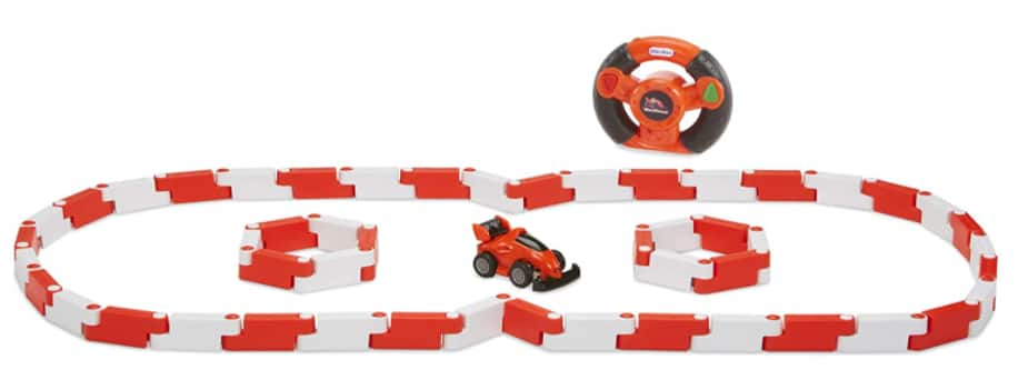 Little Tikes YouDrive Flex Tracks w/ RC Car, Remote & 50 Track Pieces: Red $8.43, Green $9.03 + Free S/H w/ Prime or Free on $25+