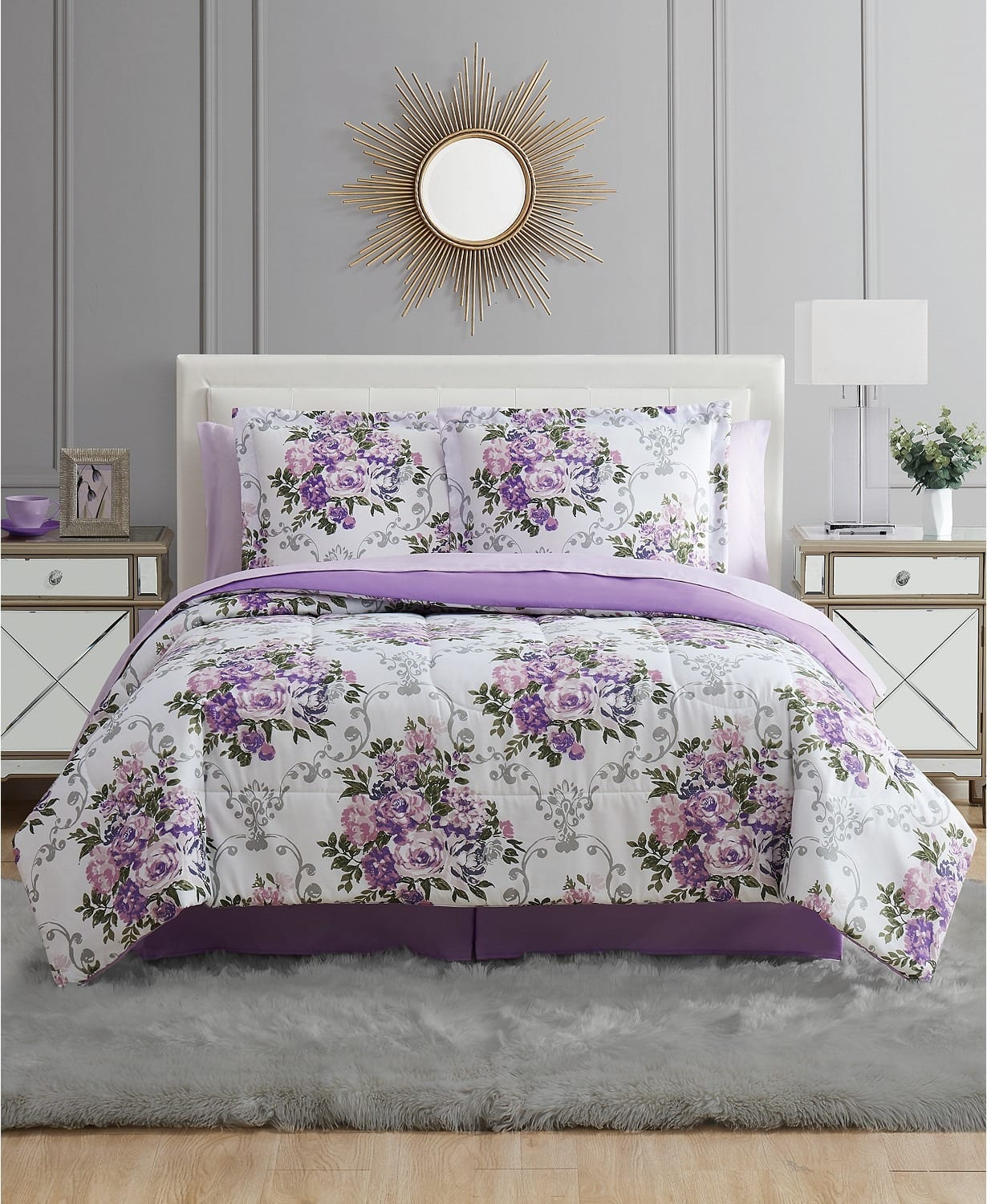 8-Piece Full or Queen Comforter Sets w/ Sheets (various) $28, 6-Piece Twin Comforter Sets w/ Sheets (various) $28 + Free Shipping