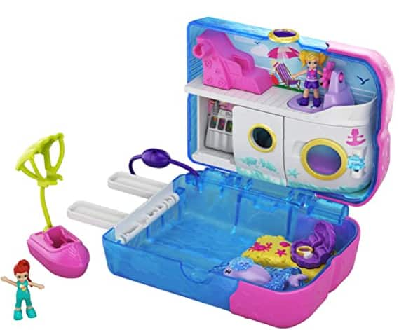 Polly Pocket World Sweet Sails Cruise Ship Compact Playset $9.76 & More + Free S/H w/ Prime or Free S/H on $25+