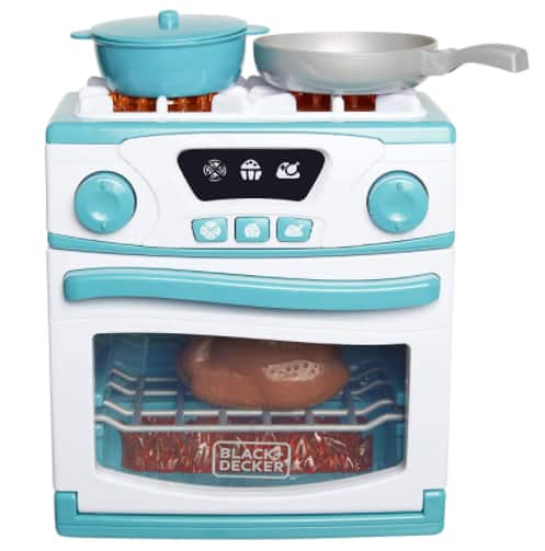 BLACK+DECKER Junior Oven/Stove Pretend Toy w/ Accessories & Lights & Sounds $15.10 + Free S/H w/ Prime or Free S/H on $25+