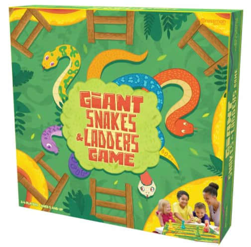 Pressman Giant Snakes & Ladders Game $9.97 + Free Shipping on $35+