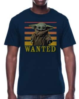 Star Wars Men's Graphic T-Shirt: Baby Yoda Wanted $7.88 & More, Star Wars Men's Holiday Pajama Pants (Blue or Black) $12.98 + Free S/H on $35+