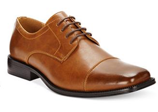Alfani Men's Adam Cap Toe Oxfords $19, Levi's Men's Turner Tumbled Waxed Sneakers $18, Bar III Men's Randy Chukka Boots $20 & More + Free Ship to Store at Macy's or FS on $25+