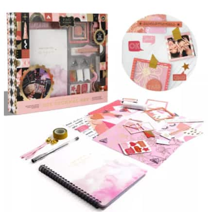 FAO Schwarz: 35-Piece Girls' DIY Journal Set $12 & More + Free Store Pickup at Macy's or FS on $25+