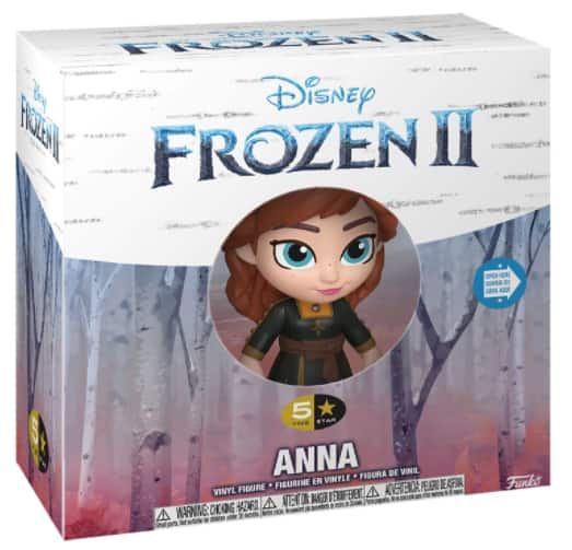 Funko 5 Star Disney: Frozen 2 Collectible Figure: Anna or Olaf $5 Each + Free Shipping on $35+