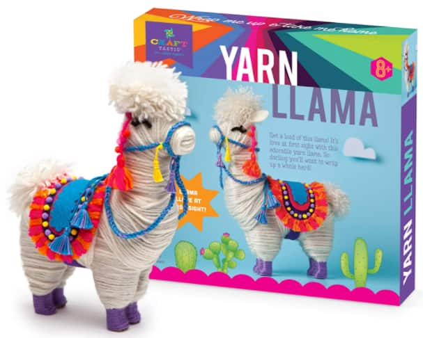 73-Piece Craft-tastic Kids' Wrapped Yarn Llama Kit $12 & More + Free S/H w/ Prime or FS on $25+