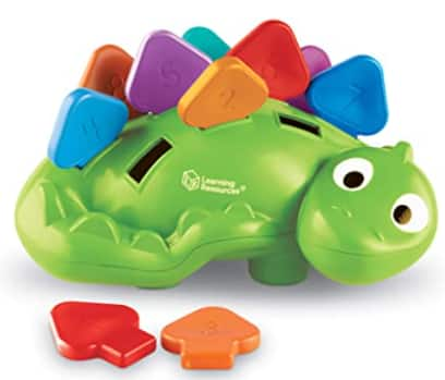 Learning Resources Steggy the Fine Motor Dino Toy $9.90 & More + Free S/H w/ Prime or FS on $25+