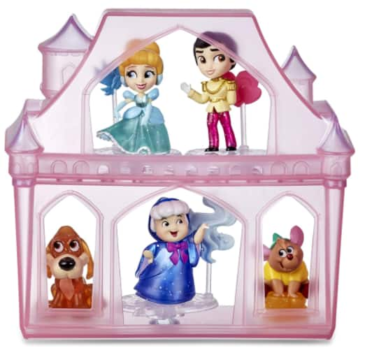 14-Pc Disney Princess Comics Surprise Adventures Cinderella Set w/ 5 Dolls, Accessories, & Display Case $12.80 + Free S/H w/ Prime or FS on $25+