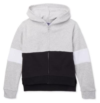 Athletic Works Girls' Apparel: 1/4 Zip Micro Polar Fleece Pullover (various) $4, Colorblock Fleece Zip-Up Hoodie (various) $5 & More + Free S/H w/ Walmart+ or FS on $35+