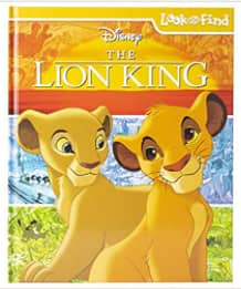 PI Kids Disney The Lion King Look & Find Activity Hardcover Book $5 + Free Store Pickup at Barnes & Noble or FS on $35+