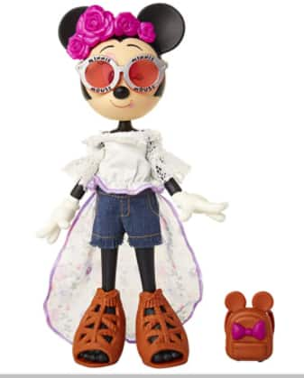 "10"" Disney Minnie Mouse Fashion Dolls: Oh So Chic Floral Festival Doll $8.87, Trendy Traveler Doll $10.90 & More + Free S/H w/ Prime or FS on $25+"