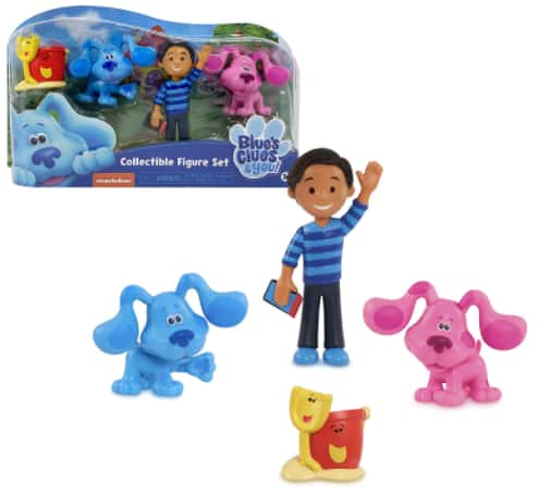 Kids' Toys: 4-Pc Blue's Clues & You Collectible Figure Set $3.49, LeapFrog Blue's Clues & You Blue Learning Watch $4.94 & More + Free Store Pickup at Target or FS on $35+