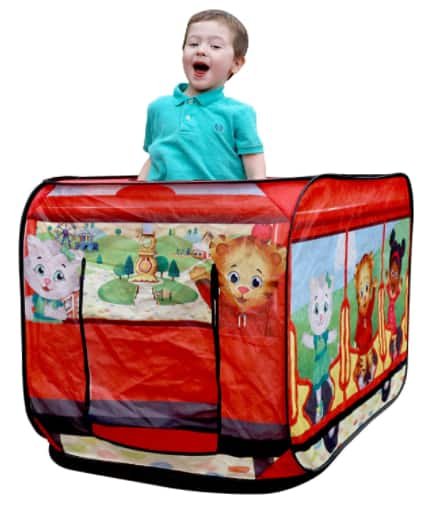 M & M Sales Enterprises Daniel Tiger's Neighborhood Trolley Pop-up Play Tent w/ Carrying Bag $17.50 + Free S/H w/ Prime or FS on $25+