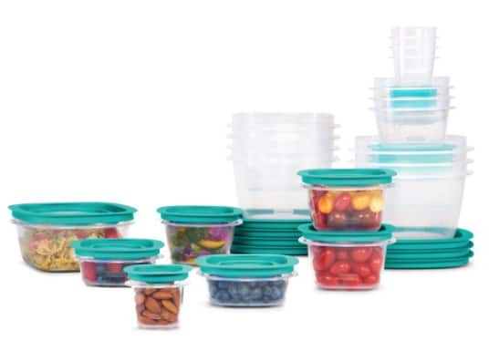 42-Pc Rubbermaid Press & Lock Easy Find Lids Food Storage Container Set (21 Containers w/ 21 Lids) $18 + Free S/H w/ Walmart+ or FS on $35+