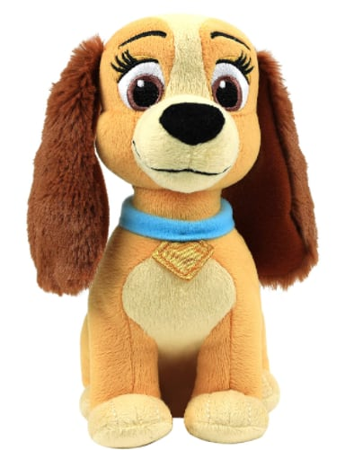"6.7"" Disney Collectible Lady & The Tramp Beanbag Plush (Lady) $3.88 + Free S/H w/ Prime or FS on $25+"