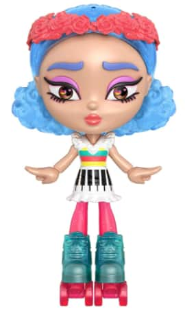 Mattel Lotta Looks Skate Pop Doll w/ 10+ Plug & Play Pieces $7 + Free S/H w/ Prime or FS on $25+