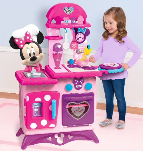 Disney Junior Minnie Mouse Flipping Fun Play Kitchen w/ Accessories $40 + Free Shipping or Free Store Pickup at Walmart