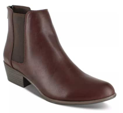 Esprit Women's Tylee Booties (brown) $9.96, XOXO Women's Rainelle Over-The-Knee Boots (black) $14.96 & More + Free Store Pickup at Macy's or FS on $25+