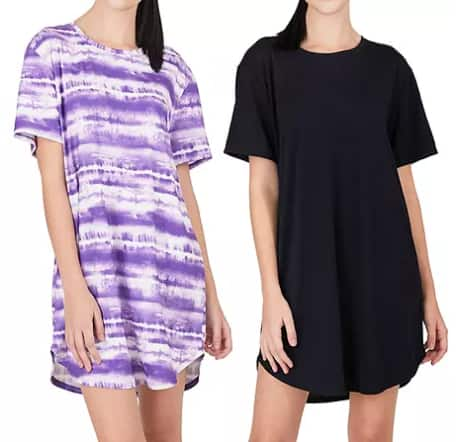 Sam's Club Members: 2-Pack N Natori Women's Sleepshirts $12.98 ($6.49 Each), 2-Pc Lauren James Women's Sleepwear Set $12.98 + Free S/H for Plus Members