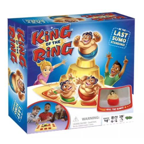 King of the Ring Kids' Board Game $5, MASH Adult Party Game $5.12 & More + 2.5% in Slickdeals Cashback (PC Req'd) + Free Store Pickup at Target or FS on $35+